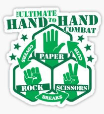 Hand to Hand Combat Sticker