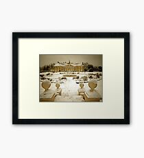 Reigate Priory in Winter Framed Print
