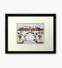 Reigate Priory School in wintertime Framed Print