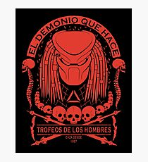 The Skull Collector - Predator Photographic Print