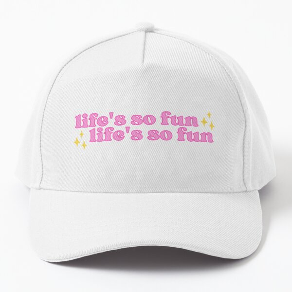 life's so fun, life's so fun | Silk Chiffon, MUNA feat Phoebe Bridgers Baseball Cap