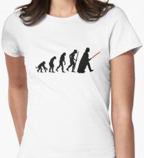 Evolution  lightsaber Womens Fitted T-Shirt