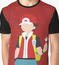 Red (Simplistic) Graphic T-Shirt