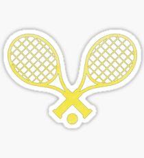 Tennis Sticker Gelb Sticker