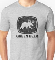 Green Beer black Unisex T-Shirt