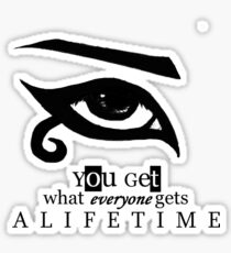 Lifetime Sticker