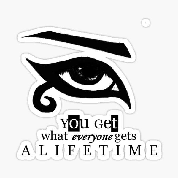 Lifetime Sticker