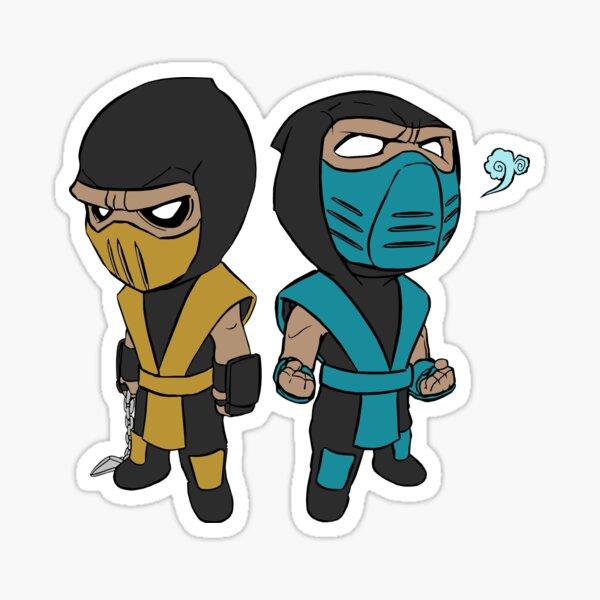 Scorpion & Sub-Zero Sticker
