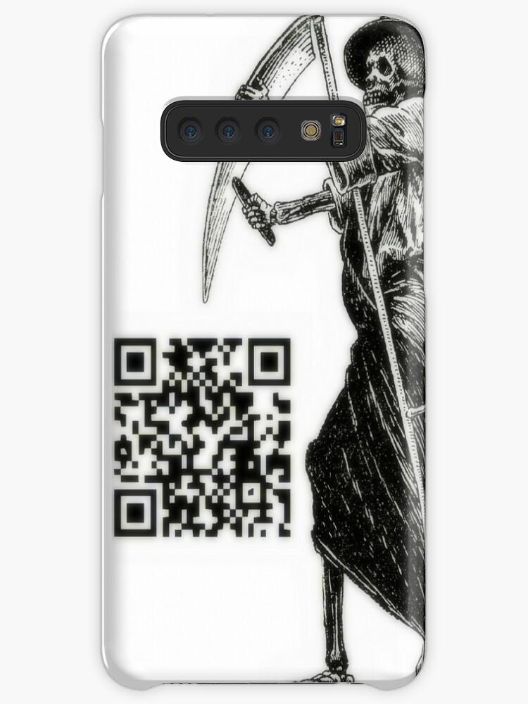 'QR Code' Case/Skin for Samsung Galaxy by Krzyzanowski Art