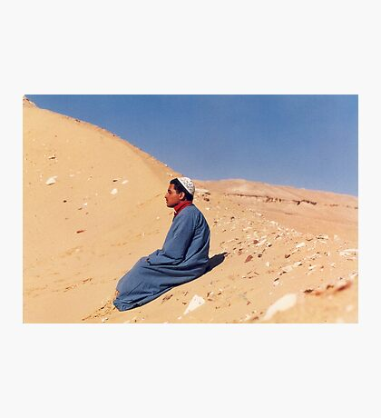 Young Man in Egypt Photographic Print