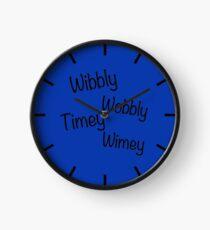 Wibbly Wobbly Timey Wimey Clock