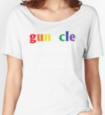 Gay Uncle Definition Shirt Gay Uncle is Fabulous Pride Shirt Women's Relaxed Fit T-Shirt