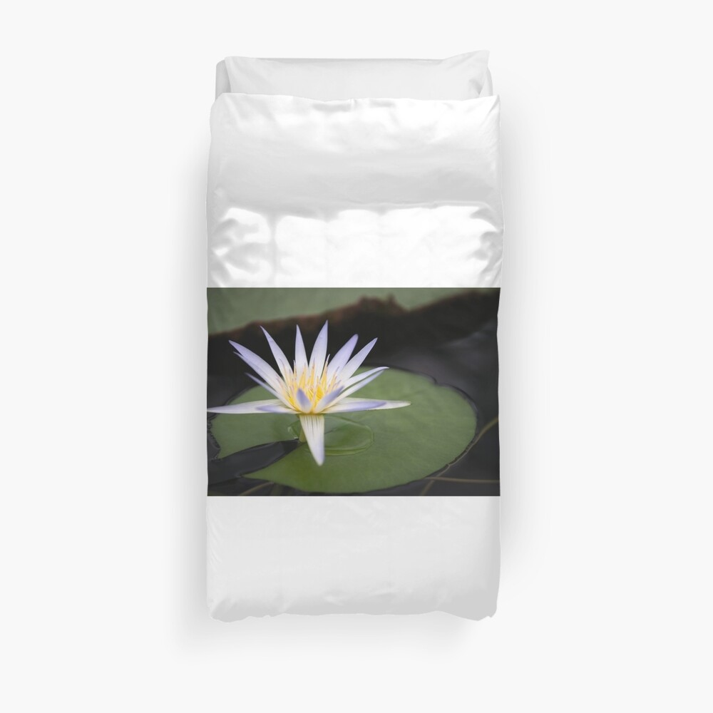 Water lily Bettbezug