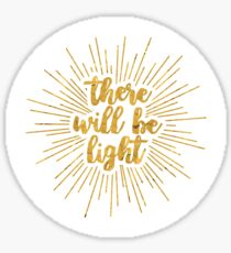 Light | Next to Normal Sticker