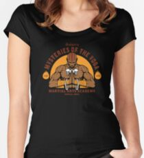 Yoga Martial Arts Women's Fitted Scoop T-Shirt