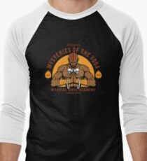 Yoga Martial Arts Men's Baseball ¾ T-Shirt