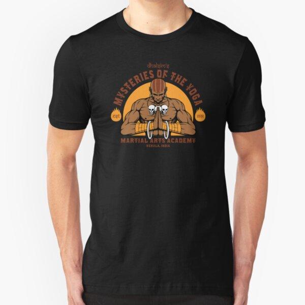 Yoga Martial Arts Slim Fit T-Shirt