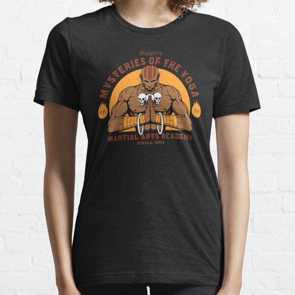 Arts martiaux de yoga T-shirt essentiel