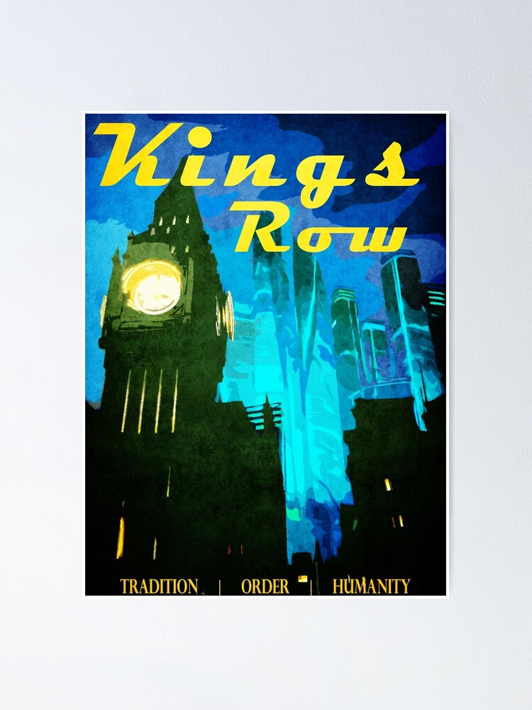 Alternate view of King's Row Vintage Travel Poster Poster