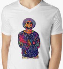 Abstract Schoolboy Q Men's V-Neck T-Shirt