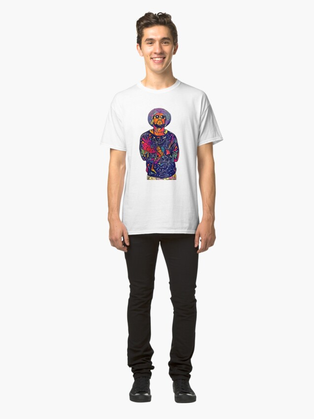 Alternate view of Abstract Schoolboy Q Classic T-Shirt