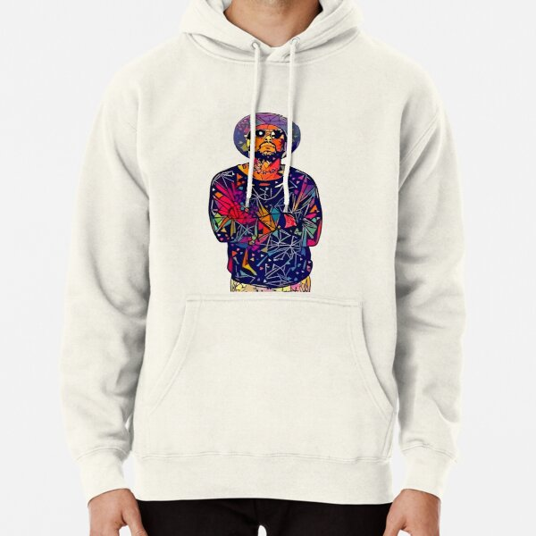 Abstract Schoolboy Q Pullover Hoodie