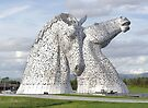 the Kelpies , Helix Park , Grangemouth  43112 by David Rankin