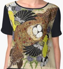 Fox and the Cradle Women's Chiffon Top