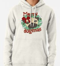 Merry Dogmas - Pug Pullover Hoodie