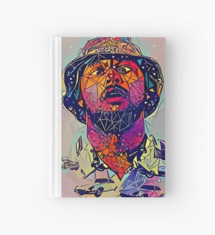 Abstract Schoolboy Q Hardcover Journal