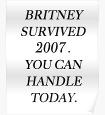 Britney Spears 2007 Poster