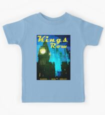 King's Row Vintage Travel Poster Kids Clothes