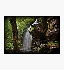 Cave Falls Side Photographic Print