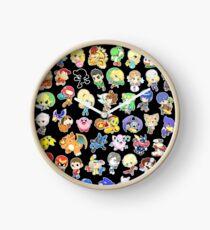 Super Smash Bros. All 58 Characters!  Clock