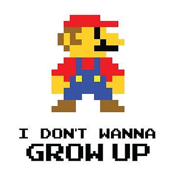 Mario - I Don't Wanna Grow Up by Purakushi