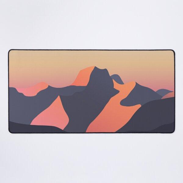 Mountain Sunset Desk Mat