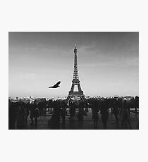 Paris in black and white  Photographic Print
