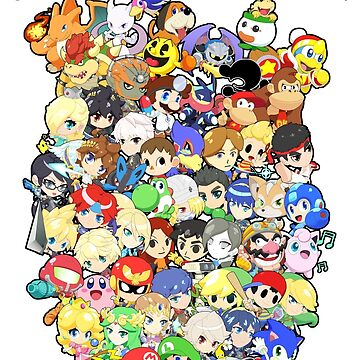 Super Smash Bros. All 58 Characters! Choose Your Fighter!! Group by SSBFighters