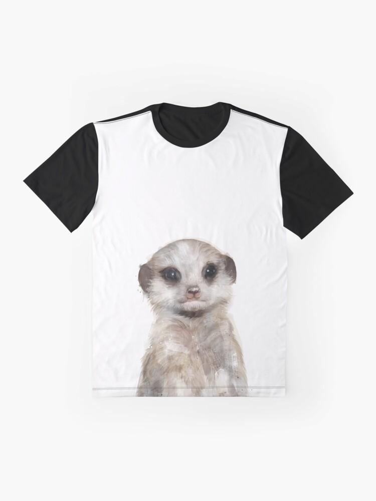 Alternate view of Little Meerkat Graphic T-Shirt