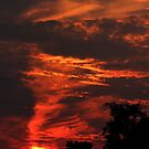 The Burning Sky - Buldern, Germany by Martin McKiernan
