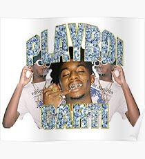 Playboi Carti Vintage Hip-Hop  Poster
