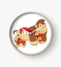 Super Smash Bros. Donkey Kong and Diddy Kong Clock