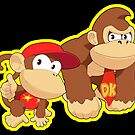 Super Smash Bros. Donkey Kong and Diddy Kong! by SSBFighters