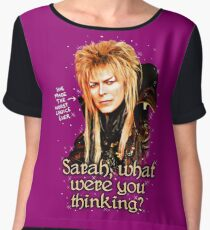 What were you thinking, Sarah? Labyrinth Jareth Chiffon Top