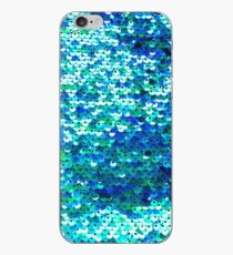 Beautiful sequins texture iPhone Case