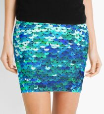 Beautiful sequins texture Mini Skirt
