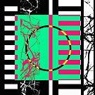 Retro Marble 1 by Printpix