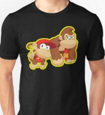Super Smash Bros. Donkey Kong and Diddy Kong! Unisex T-Shirt