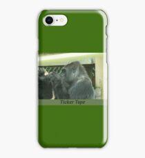 Ticker Tape iPhone Case/Skin