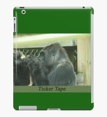 Ticker Tape iPad Case/Skin